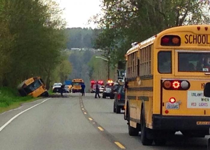 School Bus Crash On Hwy 162 Orting News